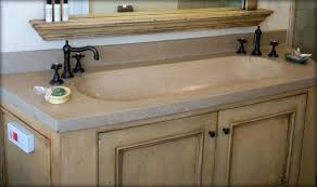 Trough Sink With Two Faucets by 4ft Integral Trough Sink Zoom Indouble Bathroom Vanity Double