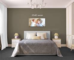 Canvas Print Size Over Queen Bed
