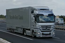 Mercedes-benz Actros, The Most Popular European Freight Truck