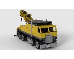 100 Toy Kenworth Trucks LEGO MOC30190 K100 Tow Truck Technic Model 2019