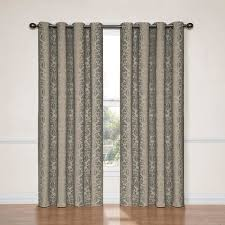 Thermal Curtain Liner Panels by Eclipse Blackout Thermaliner Curtain Panels Set Of 2 Walmart Com