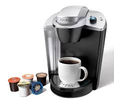 Keurig With Coffee Pot Officepro K145 Single Cup Commercial Brewer Black