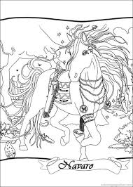 Bella Sara The Magical Horse Coloring Pages 1