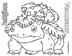 Monster Pokemon Coloring Pages