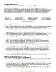 Great Project Manager Resume Telecom Senior Functional Sample Gall