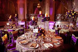 Indian Wedding Reception Decor And Tables