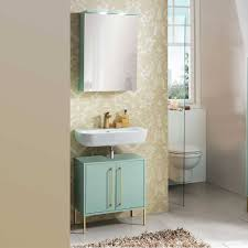 badmöbel set in mint grün gold aparcian 2 teilig