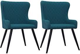 unfadememory esszimmerstühle samtpolsterung essstuhl küchenstuhl polsterstuhl esszimmer wohnzimmer stuhl set sitzfläche aus samt 60 x 55 x 84 cm