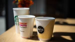 Paper Coffee Cups Have A Thin Layer Of Plastic On The Inside To Prevent Leaking