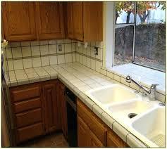white tile countertops white ceramic tile granite countertops with
