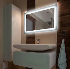 badspiegel mit licht 50x40 cm badezimmerspiegel mit