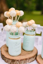 Wedding Desserts Dont Have To Be Super Fancy Or Expensive Cake Pops Offer A Whimsical Spin On The Conventional Giving Guests Taste