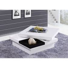 table basse carree blanche spitpod