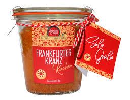 frankfurter kranz kuchen im glas