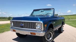 1972 Chevy Blazer SOLD Stock #1052 - YouTube
