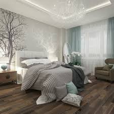 Natures Colours Trees Wood Beautiful Bedroom Visualisation By Bovtko Anna