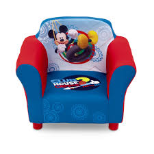 Check Out Disney Mickey Mouse Clubhouse Toddler Boy's Upholstered Chair -  ShopYourWay Delta Children Emma Upholstered Rocking Chair Ecru Abbyson Theresa Velvet Pink Foam Products In Design Kids Soft Upholstered Rocking Chairs Bibongacom Fniture Nursery 19th Century American Country Style Childs Beautiful For Home Brighton Airplane Print Toddler Rocker Cotton Wayfair Living Room Chairs Ildrensrockingchairs T 10 Best 2019 1950s Vintage Commonwealth Of