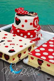 weeding cake minnie pour é a mes nuits blanches
