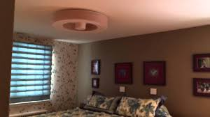 Bladeless Ceiling Fan With Led Light by Our New Exhale Ceiling Fan