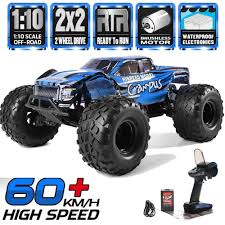 100 Ebay Rc Truck HSP Brushless Motor RC Car 110 2WD Off Road Monster Lipo Battery RC