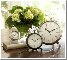 Fun Find Pottery Barn Desk Clock A Thoughtful Place