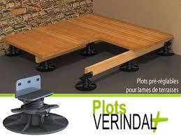 plot reglable pour terrasse bois terrasse en bois sur plot 11 plots reglables pour terrasses