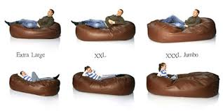 Sofabed Bean Bag Size Guide