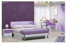 Purple Bedroom Furniture Wall With Kids