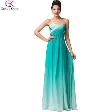 online get cheap strapless green prom dress aliexpress com