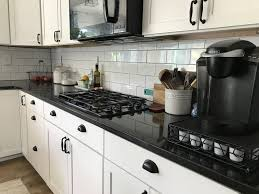 Black And White Subway Tiles Kitchen Designs 1