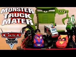100 Monster Truck Mater Cars Toon Commercial