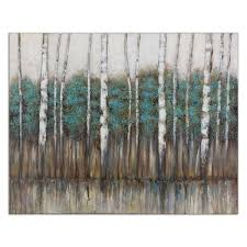 Tree Canvas Wall Art Edge Of The Forest