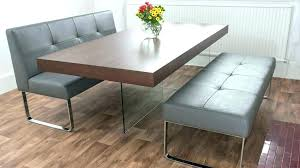 Dining Room Table And Bench Full Size Of Benches Charming Design Set Chic