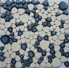 pebble mosaic tile glazed porcelain glass ppmt039 2 focusair info