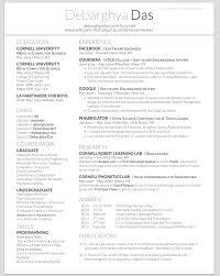 2 Column Resume Template Fieldstation Co