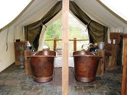 Private Copper Soak Tubs At The Lazy U Spa At C Lazy U | The