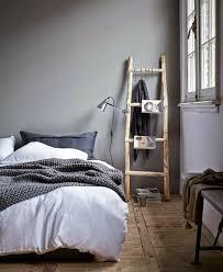 Living Ideas Bedroom Hardwood Floors Grey Walls Staircase Rustic