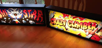 Jeff s Arcade Marquee Light Boxes