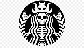 Silhouette Starbucks Logo Drawing