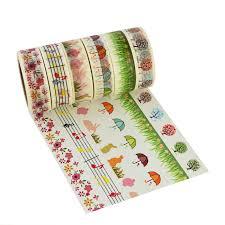 Halloween Washi Tape Ideas by Amazon Com 6pcs Washi Masking Tape Collection Sticker Paper