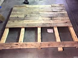 Your Diy Brian Made A King Size Pallet Wood Headboard Headboards