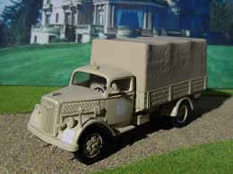 100 1940 Trucks Opel Blitz 30 Tons A Model HobbyDB