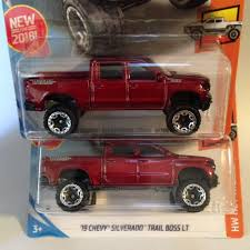100 Hot Trucks 2018 Wheels 19 Chevy Silverado Trail Boss LT HW