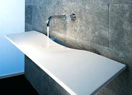 Trough Bathroom Sink With Two Faucets Canada by Undermount Trough Bathroom Sink With Two Faucets Canada 36