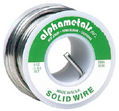 Alpha Metals Solid Wire - 227g