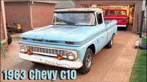 100 1963 Chevrolet Truck Chevy C10 New Project YouTube