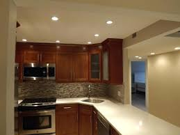 pot lights for kitchen recessed lights in kitchen and hallway