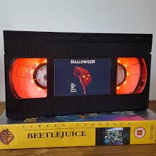 Halloween H20 Mask Unboxing by The Horrors Of Halloween Retro Horror Vhs Lamps Art And Prints
