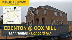 100 Edenton Lofts At Cox Mill From MI Homes TOUR Concord NC 28027