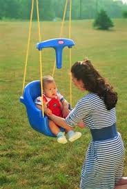 Searsca Patio Swing by New Little Tikes Outdoor Playground Yard Sun Safe Swing Canopy